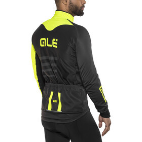 Alé Cycling Piuma Jacket Men Black-Fluo Yellow